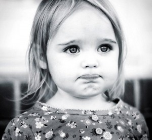 black-and-white-sweet-cute-sad-kid-girl-adorable